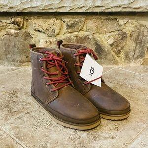 Uggs..Mens harkley waterproof leather boots